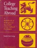 College teaching abroad