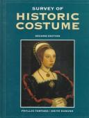 Cover of: survey of historic costume | Phyllis G. Tortora