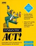 Cover of: ACT! for Windows