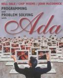 Cover of: Programming and Problem Solving With Ada