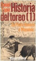 Cover of: Historia del toreo