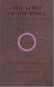 Cover of: Title: The lord of the rings Subtitle: A Reader's Companion