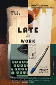 Cover of: Late for work | Tucker, David