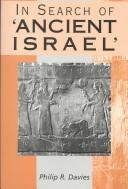 Cover of: In search of 'ancient Israel'
