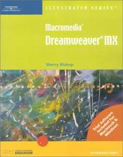 Cover of: Macromedia Dreamweaver MX-Illustrated Introductory (Illustrated (Thompson Learning))