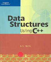 Cover of: Data Structures Using C++ (Programming)