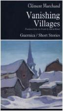Cover of: Vanishing villages
