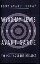 Cover of: Wyndham Lewis and the avant-garde