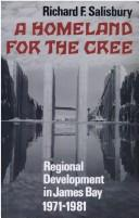 Cover of: A homeland for the Cree