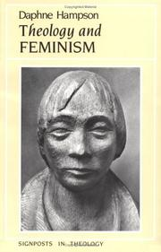 Cover of: Theology and feminism | Margaret Daphne Hampson