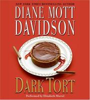 Cover of: Dark Tort CD: A Novel of Suspense (Goldy Bear Culinary Mysteries)