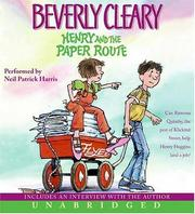 Cover of: Henry and the Paper Route CD
