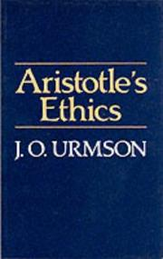 Cover of: Aristotle's Ethics