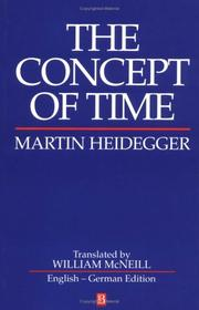 Cover of: The concept of time