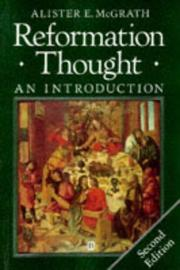 Cover of: Reformation thought