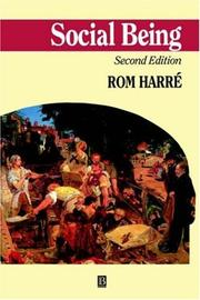 Cover of: Social being | Rom HarreМЃ