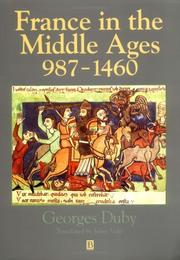 Cover of: Moyen Age 987-1460