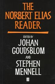 Cover of: The Norbert Elias reader