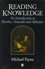 Cover of: Reading knowledge