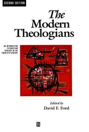 Cover of: The Modern Theologians