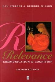 Cover of: Relevance