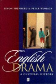 Cover of: English drama