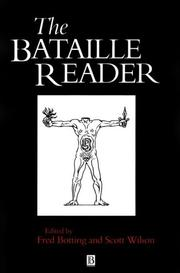 Cover of: The Bataille reader | Georges Bataille