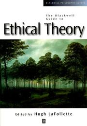 Cover of: Ethical Theory | Hugh LaFollette