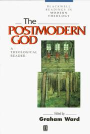 Cover of: The Postmodern God | Graham Ward