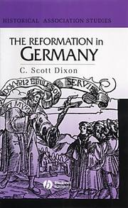 Cover of: The Reformation in Germany