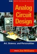 Cover of: Analog circuit design |