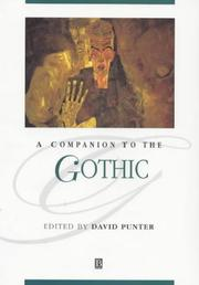 Cover of: A Companion to the Gothic