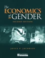 Cover of: The economics of gender