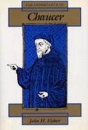 Cover of: The importance of Chaucer