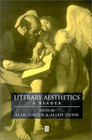 Cover of: Literary aesthetics |
