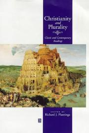 Cover of: Christianity and Plurality | Richard J. Plantinga