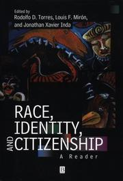 Cover of: Race, Identity and Citizenship |