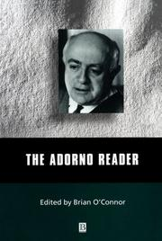 Cover of: The Adorno Reader