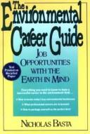 Cover of: The environmental career guide