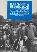 Cover of: Harmony & dissonance | Sidney M. Bolkosky