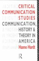 Cover of: Critical communication studies