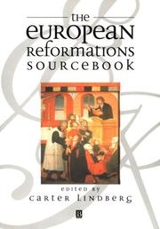 Cover of: The European reformations sourcebook |