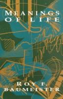 Cover of: Meanings of life