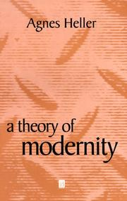 Cover of: A Theory of Modernity