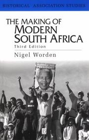 Cover of: The making of modern South Africa
