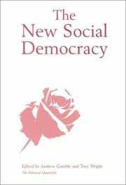 Cover of: The New Social Democracy (Political Quarterly Special Issues) |
