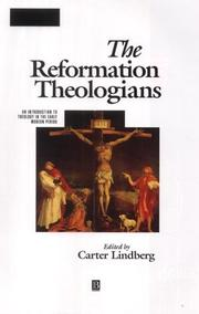 Cover of: The Reformation Theologians