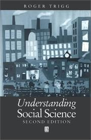 Cover of: Understanding social science