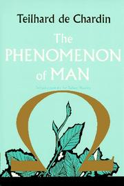 Cover of: The Phenomenon of Man