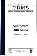 Cover of: Subfactors and knots